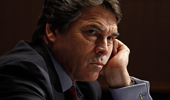 rick perry angry