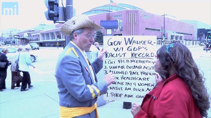 Dem. Assemblyman Dressed In Confederate Uniform Confronted By Black GOP Delegate