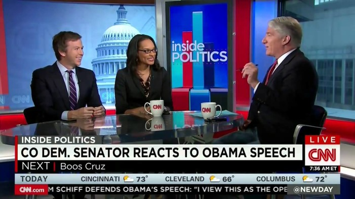 Sen. Udall Mocked By CNN Panelists For Being 'Hilariously Wrong'