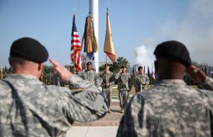 FMWRC Uncasing and Deactivation Ceremony - US Army 060311