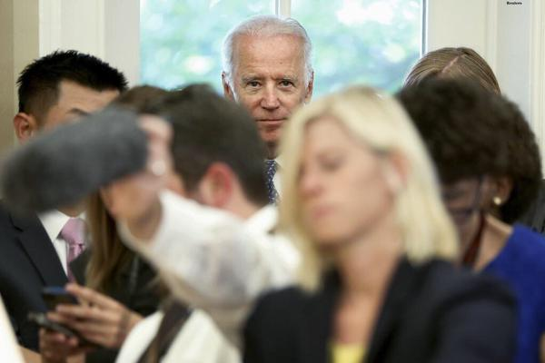 Biden looking