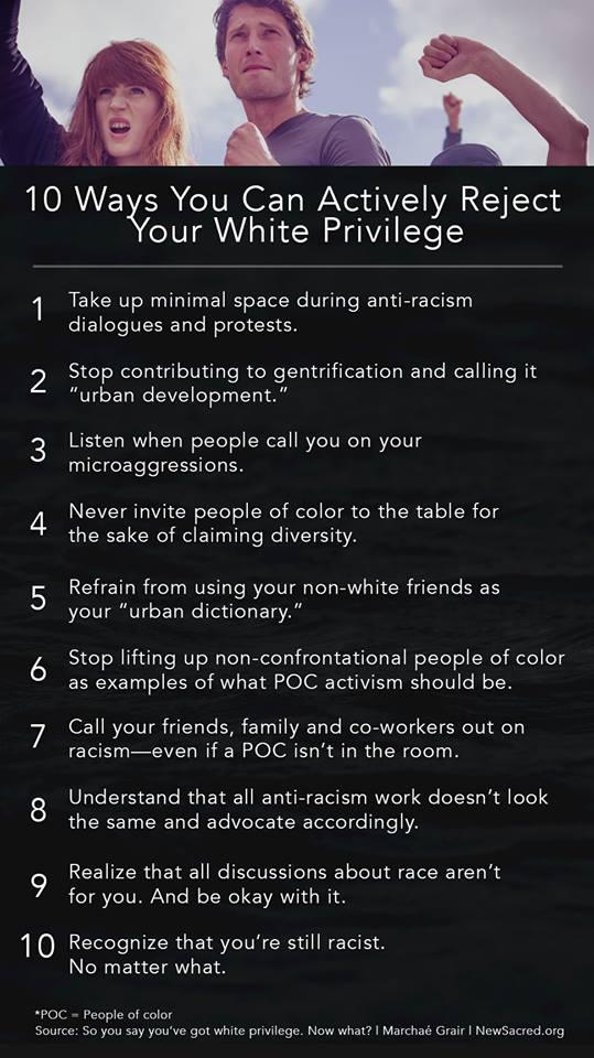 racist UCC