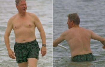 bill shirtless