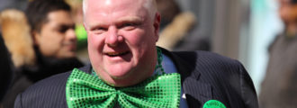 Crack-Smoking Mayor Rob Ford Has Higher Approval Ratings Than Obama