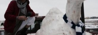Radical Muslim Cleric Issues Fatwa Banning Big, Bad, EVIL . . . Snowmen