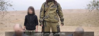 ISIS Video Shows Child Executing Two Suspected Russian Spies