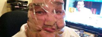 Latest Internet Meme: Sticky Tape Selfies!