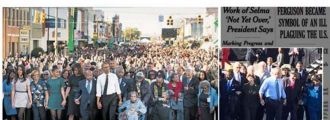NY Times Denies Cropping G.W. Bush Out Of Selma Photo