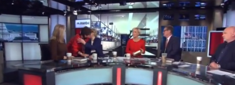 CREEPY: Watch MSNBC Hosts Hug And Kiss Obama Advisor Valerie Jarrett
