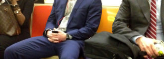 Police Now Arresting For 'Manspreading' on NYC Subways