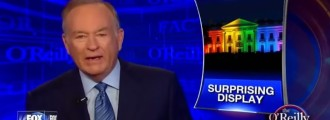O'Reilly: White House Rainbow Lights 'Wrong and Insulting,' Slap in the Face