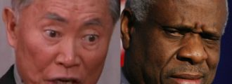 George Takei's Racist Rant: Clarence Thomas Is 'A Clown In Blackface'