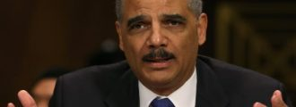 Surprise: Eric Holder Plays . . . The Race Card