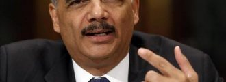 "Smug Holder Mocks Gohmert: ""Good Luck With Your Asparagus"""