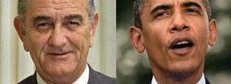 Obama: I'm Just Like LBJ; People Hated His Health Care Plan Too!