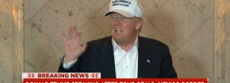Trump OWNS This MSNBC Anchor During Texas Border Presser