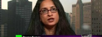 Rutgers Professor Deepa Kumar Says U.S. Is More 'Brutal' Than ISIS