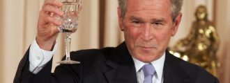 George W. Bush: 'Presidents Compare Their Libraries Like Men Compare Their . . .'