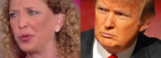 Donald Trump Says What We Have All Been Thinking About Debbie Wasserman Schultz