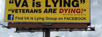Meet The Man Behind New Billboard Shaming Veterans Affairs