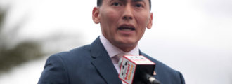Navajo Indian Senator Carlyle Begay Switches From Democrat To Republican Party