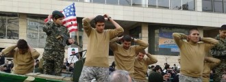 OUTRAGE: Iran Mocks U.S. Captured Soldiers In Parade.