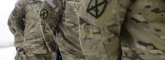 MADNESS: Military Ordered To Remove Combat Patches