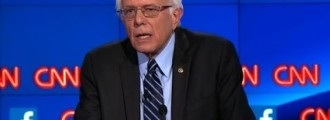 "SANDERS: ""When You're White You Don't Know What It's Like To Be Poor"""