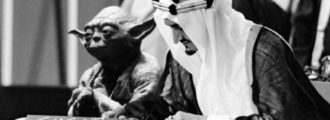 Oops! Saudi Arabia Prints Textbook with Picture of Yoda at the Founding of the UN