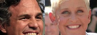 Hollywood v. Hollywood: Ruffalo Roots for Nastiness, Ellen Doesn't -- Good for Her!