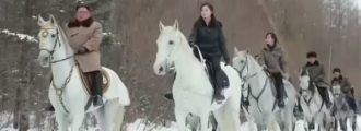 Kim's Symbolic Horse Ride Suggests Big Decision Is Near