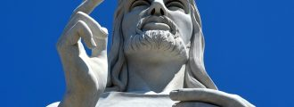 Missing the Point: Truth About White Jesus Statues