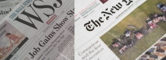 WSJ Battle Cry: 'We Are Not the New York Times'