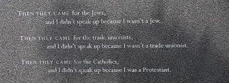 California Threatens: Niemöller's Warning for America Today