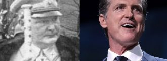 Does California's Guv Newsom Take Hermann Göring as His Inspiration?
