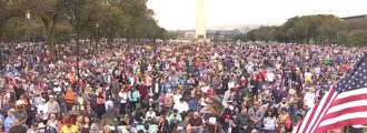 Tens of Thousands of Christians Converge on DC -- Without Trashing the City