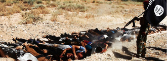 Horrifying: Video Of ISIS Militants Executing 1500 Iraqi Army POWs