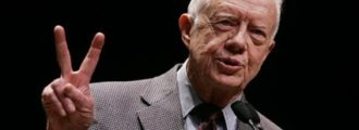 Jimmy Carter: McCain Doesn't Like Me? Well, He's a War-Monger